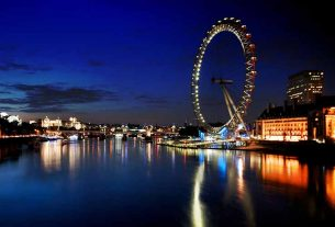 london eye black blue