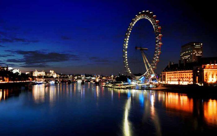 london eye black blue