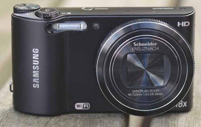 Camera Samsung WB 150F Shot Photo Black