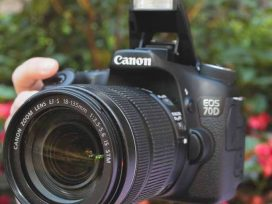Canon EOS 70D Camera black